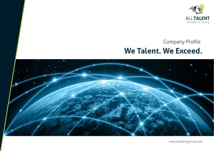 All Talent Group - Translation