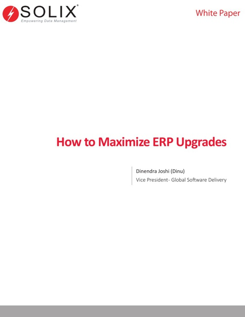 How to Optimize ERP Upgrades