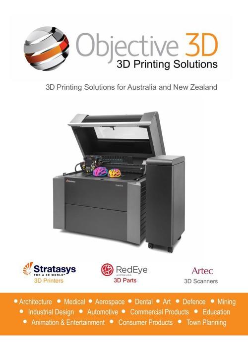 Objective3D Company Brochure