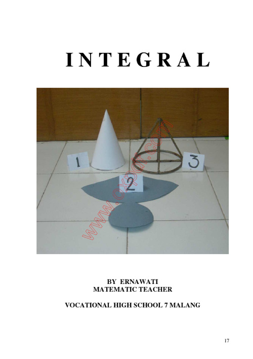 BUKU INTEGRAL BY ERNA SMKN 7 MALANG