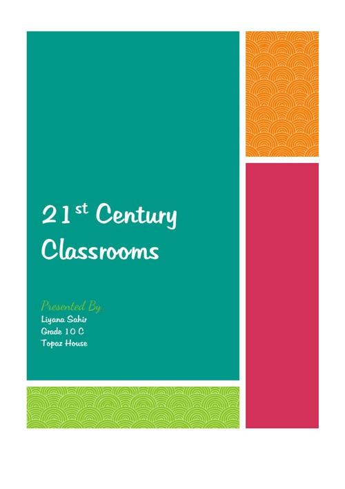 21st Century Classrooms