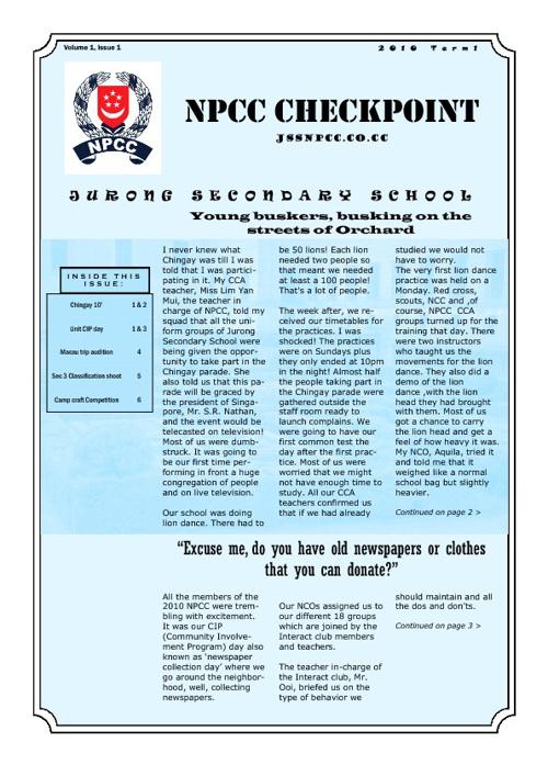 NPCC Times 2010
