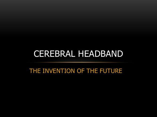 cerebral headband