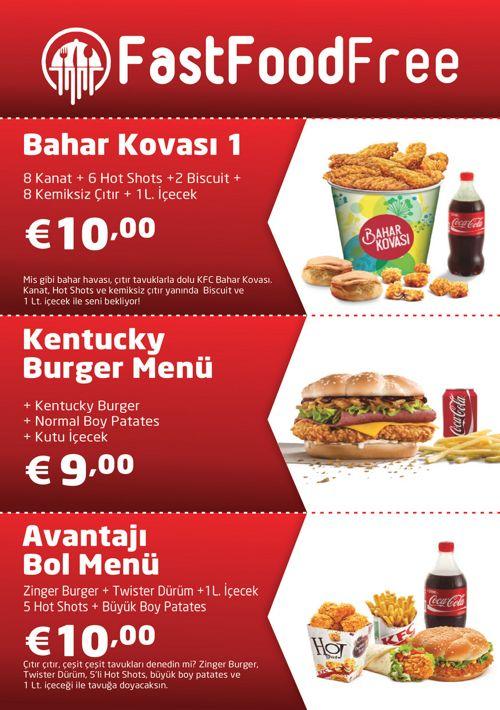 KFC Menü 3