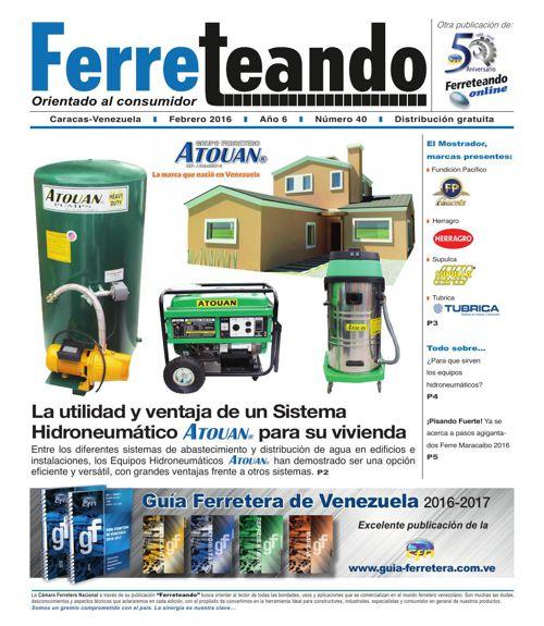 FERRETEANDO No. 40-FEBRERO 2016