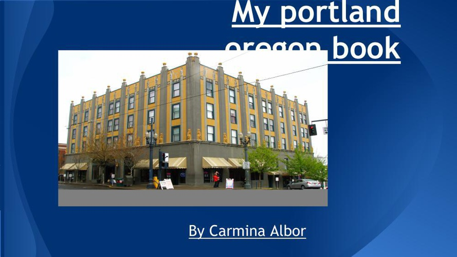 my portland oregon book