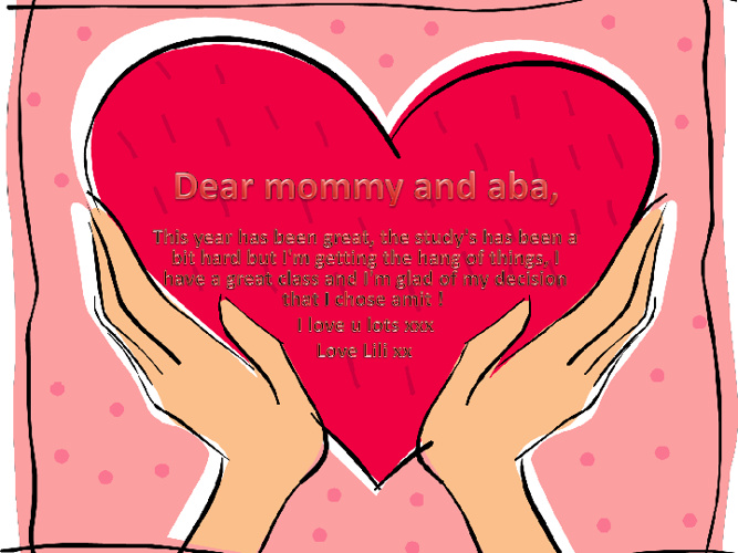 to my dear parents