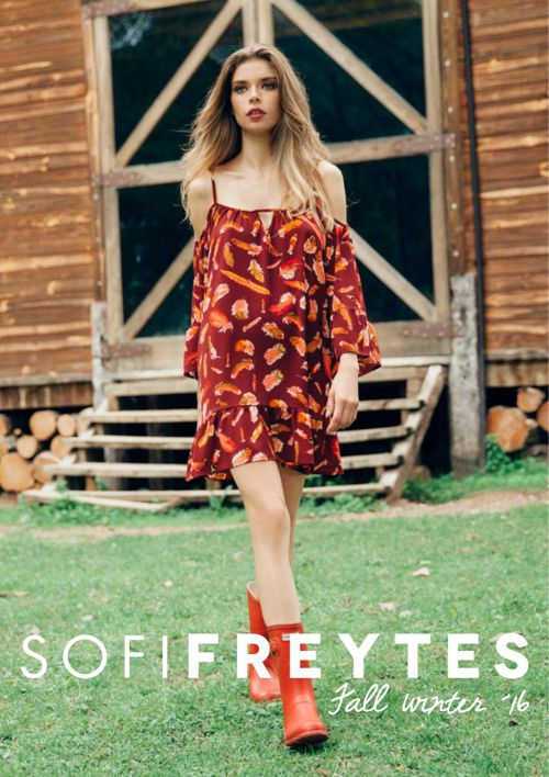 CATÁLOGO SOFI FREYTES FALL WINTER ´16
