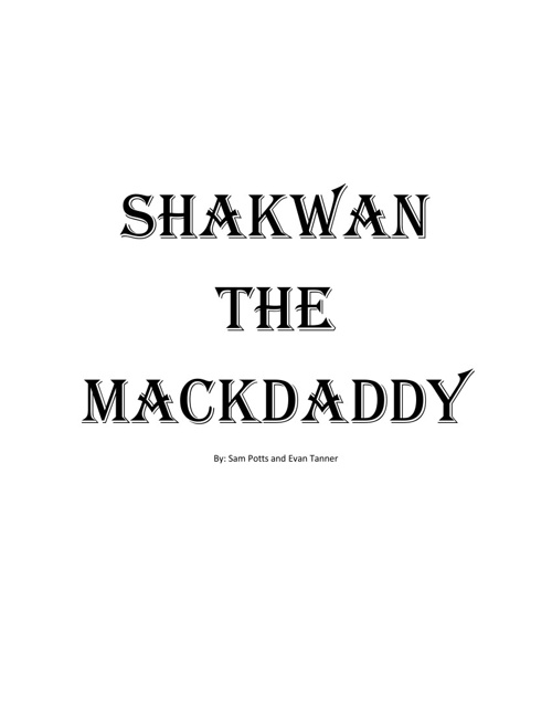 Shakwan the Mackdaddy