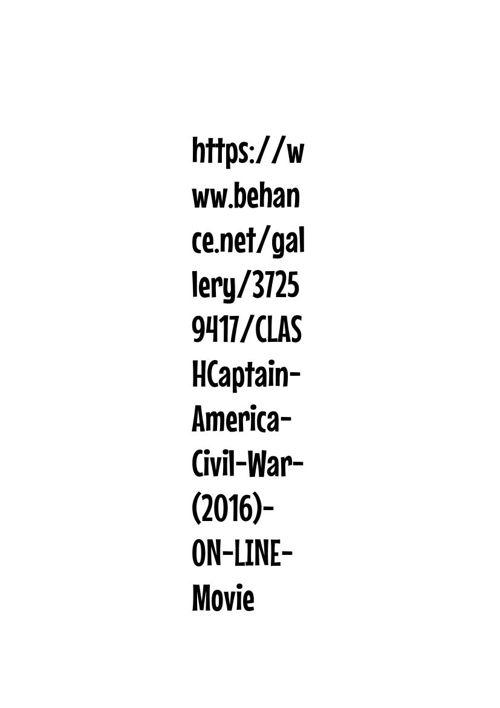 https://www.behance.net/gallery/37259417/CLASHCaptain-Americ