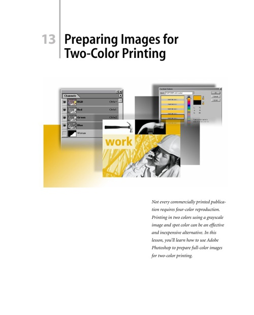 Preparing Images for Two-Color Printing