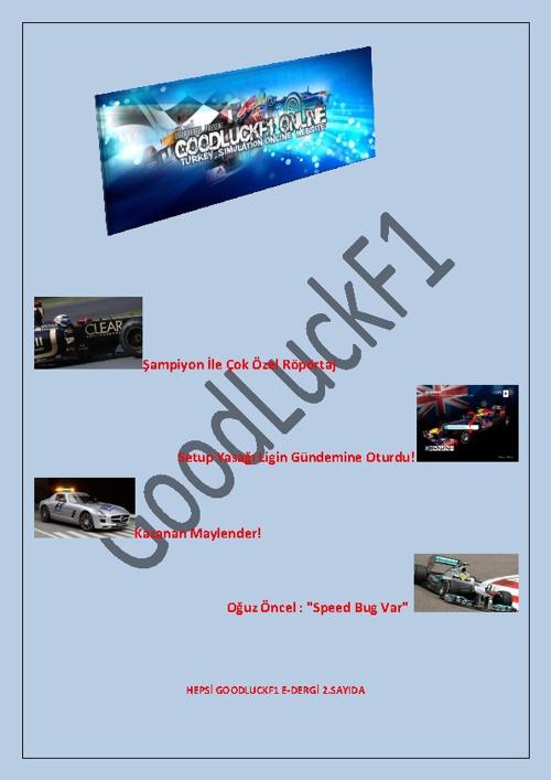 GoodLuck E-DERGI 2.sayı