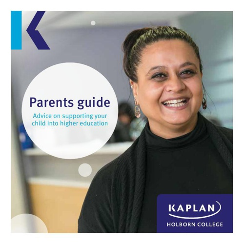 Kaplan Holborn College Parents Guide