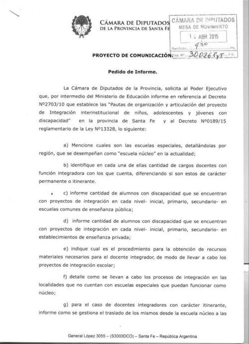Avelino Lago - Escuelas Núcleo Jóvenes discapacitados