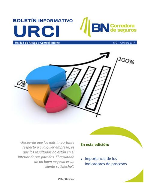Boletín Informativo URCI N°9 Octubre 2017