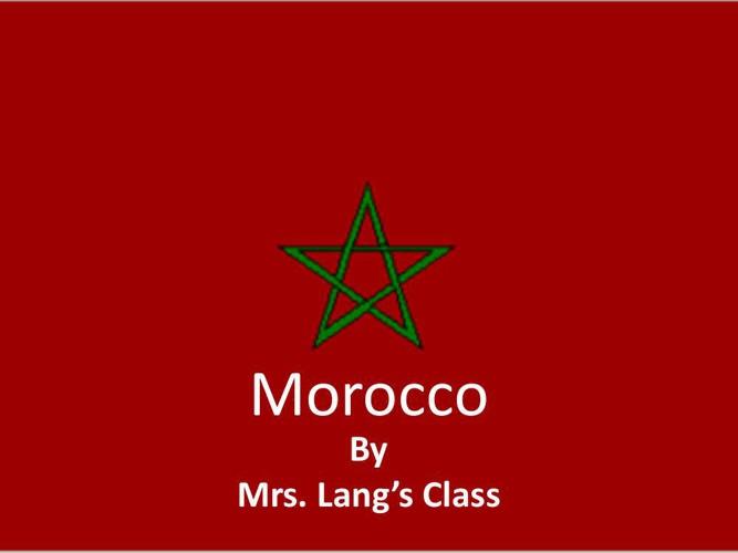 Morocco-Lang