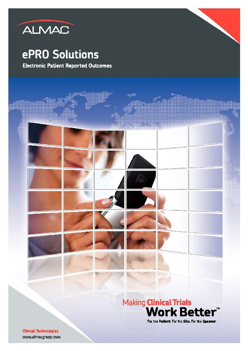 ePRO Solutions Electronic Patient Reported Outcomes