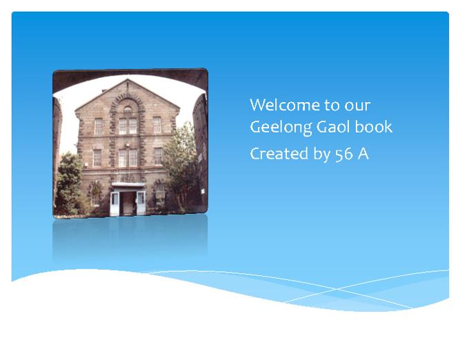 Geelong Gaol -
