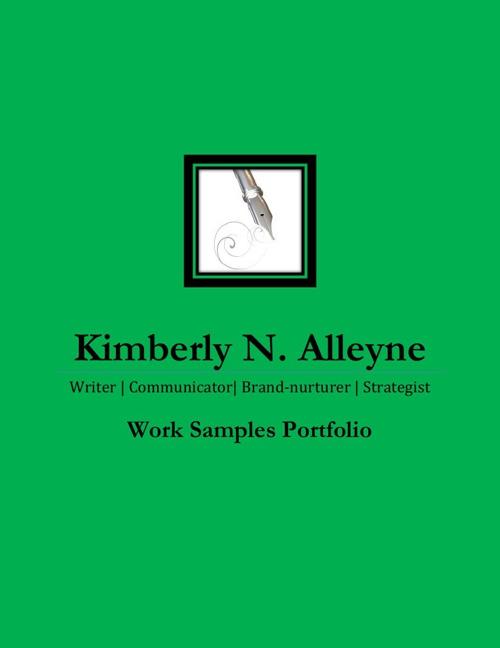 KNA Work Samples