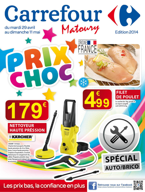Carrefour :  Prix choc avril 2014