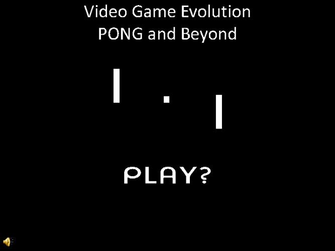 Video Game Evoltion