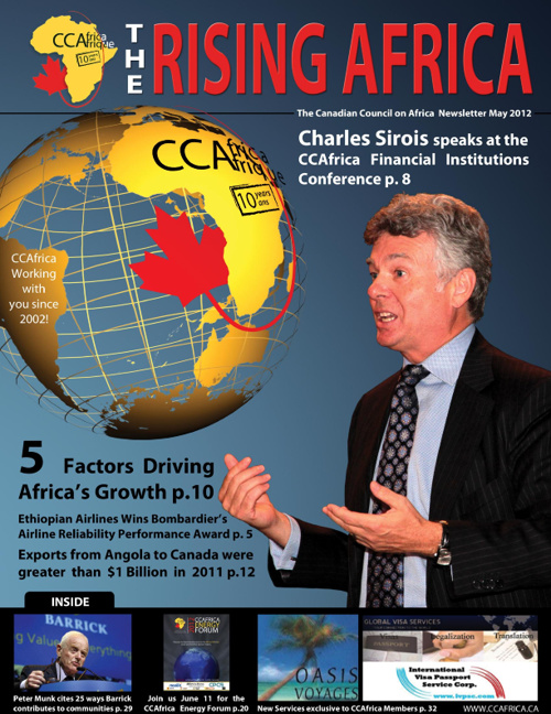 The Rising Africa - CCAfrica Spring Newsletter