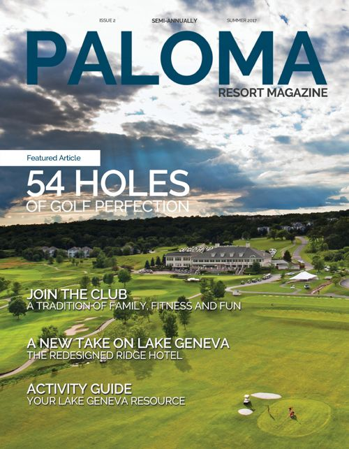 Summer 2017 Paloma Resort Magazine
