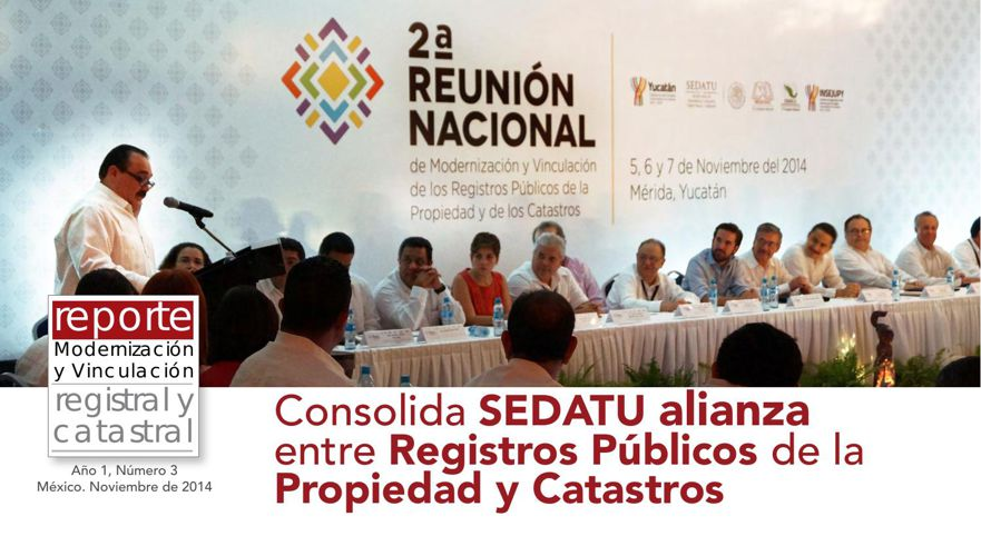 Revista Reporte Registral y Catastral #3