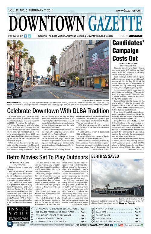 Downtown Gazette  |  February 7, 2014
