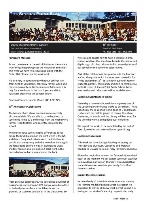 Week 10 Newsletter