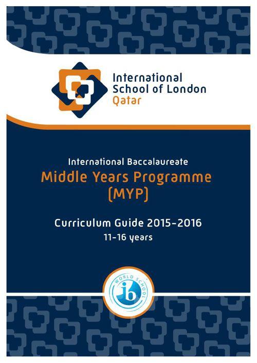 MYP Curriculum Guide 2015-2016