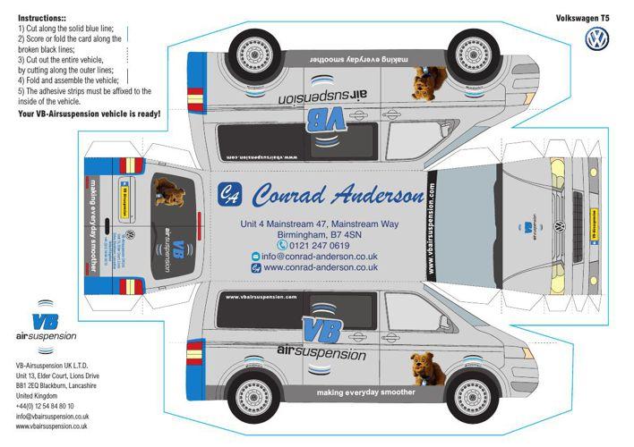 VB VW T5 card CA