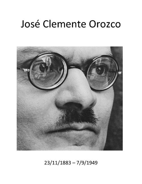 Orozco: Hombre de Fuego