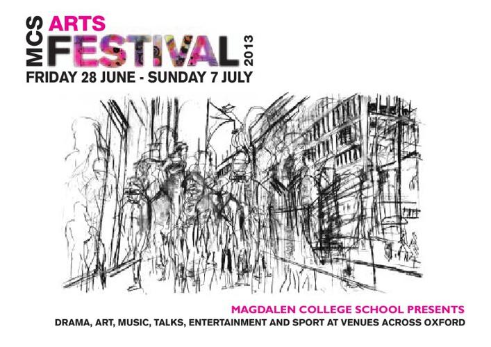 MCS Arts Festival 2013 brochure