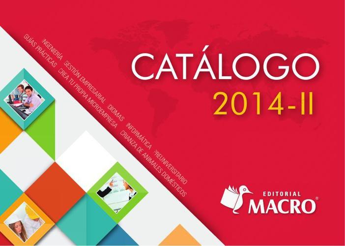 CATALOGO 2014-2