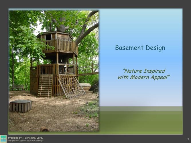 TI Concepts:  Basement Design Presentation