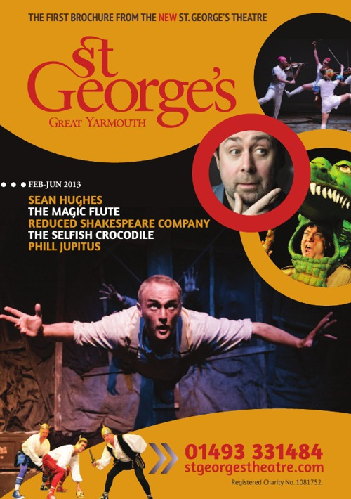 St. George's Theatre Brochure Spring 2013