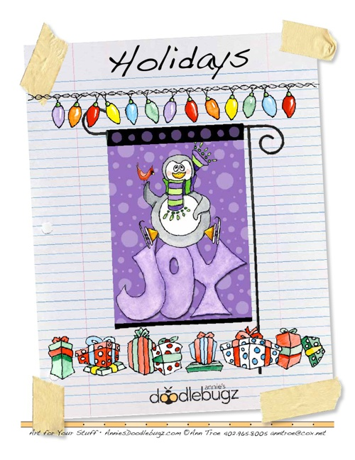 Annie's Doodlebugz 2013 Portfolio