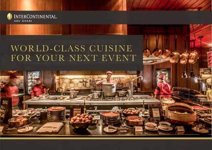 WORLD-CLASS CUISINE FOR YOUR NEXT EVENT