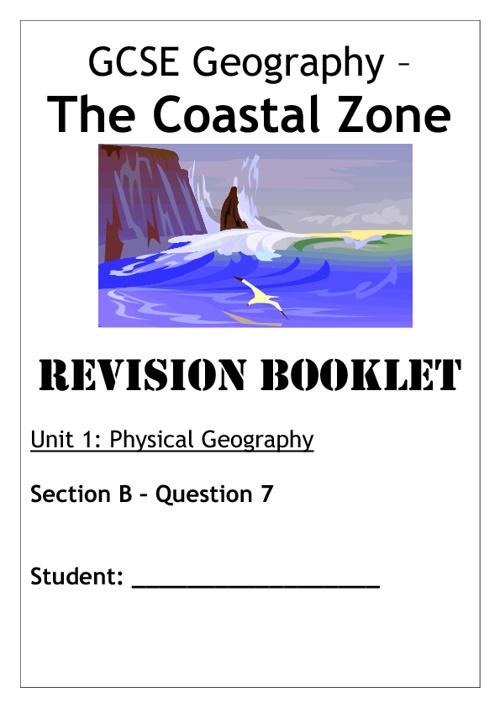 Coastal Zone Revision Booklet
