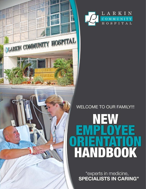 Virtual Orientation Handbook_Larkin Hospital
