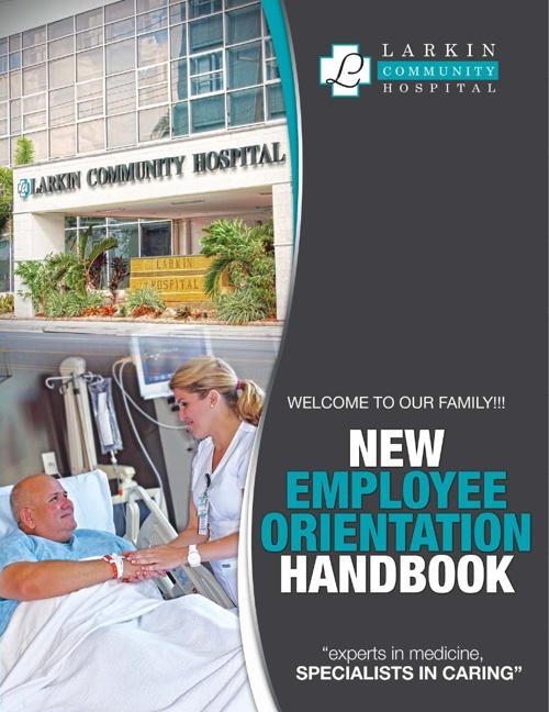 Virtual Orientation Handbook_Larkin Hospital