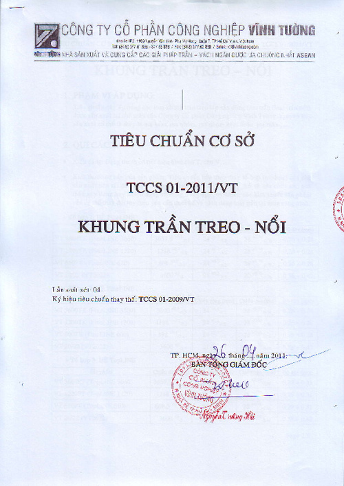 TIEU CHUAN CO SO
