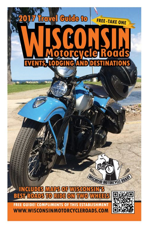 2017 Wisconsin Motorcycle Roads Travel Guide