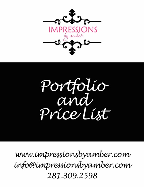 Children Portfolio & Price List