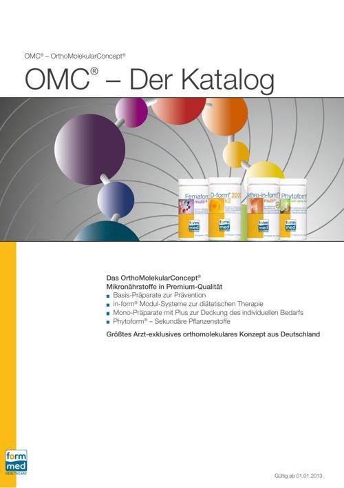 Katalog FormMed HealthCare AG