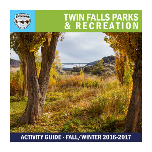 2016 Fall/Winter Recreation Guide