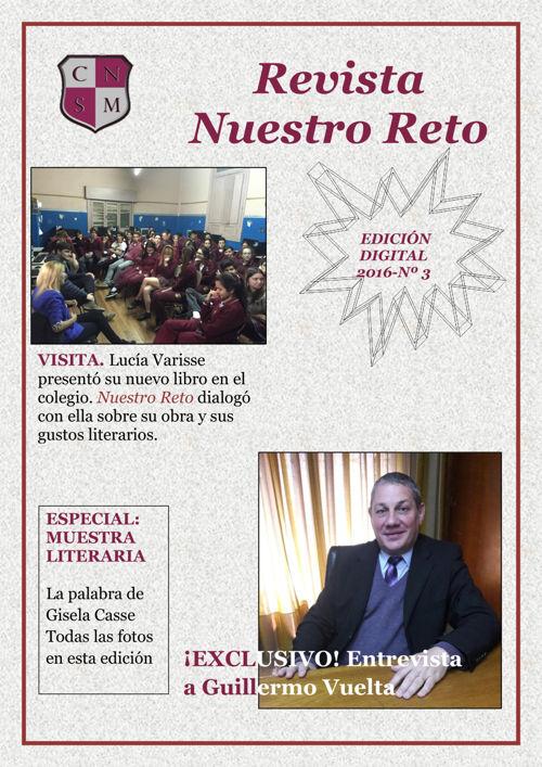 RevistaNuestroReto - 3º Edición - 2016