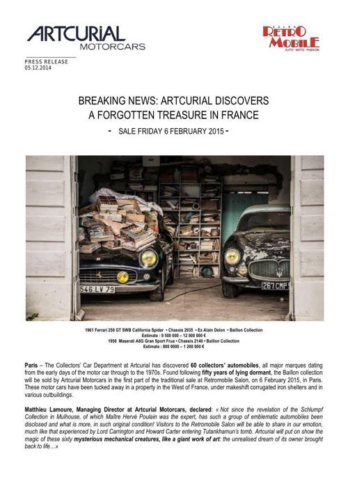 The Baillon Collection