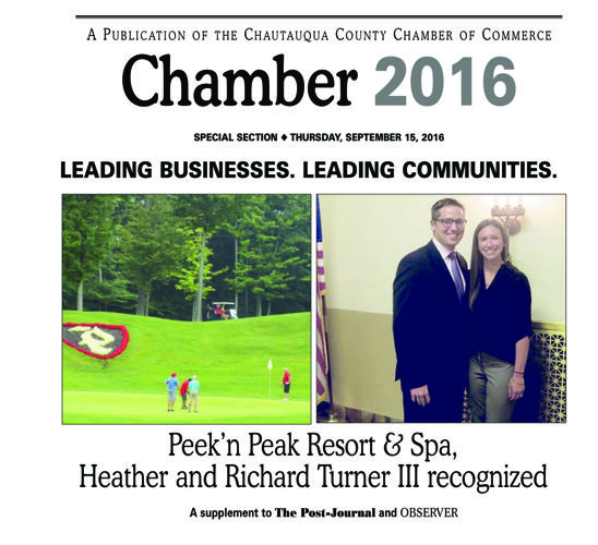 Chamber 2016 - The Post-Journal & OBSERVER - September 2016